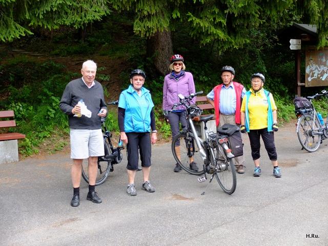 Radtour zum Eckhof bei Rottweil